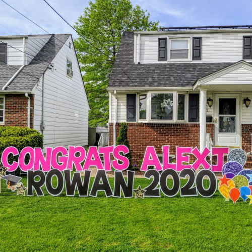 congratulation yard signs