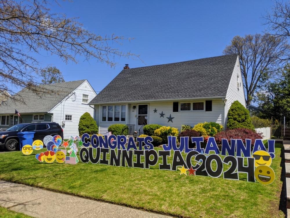 Custom Graduation Yard Signs in New Jersey