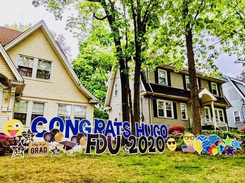 Graduation Yard Signs Custom