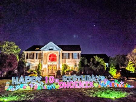 Happy Birthday Yard Signs in New Jersey