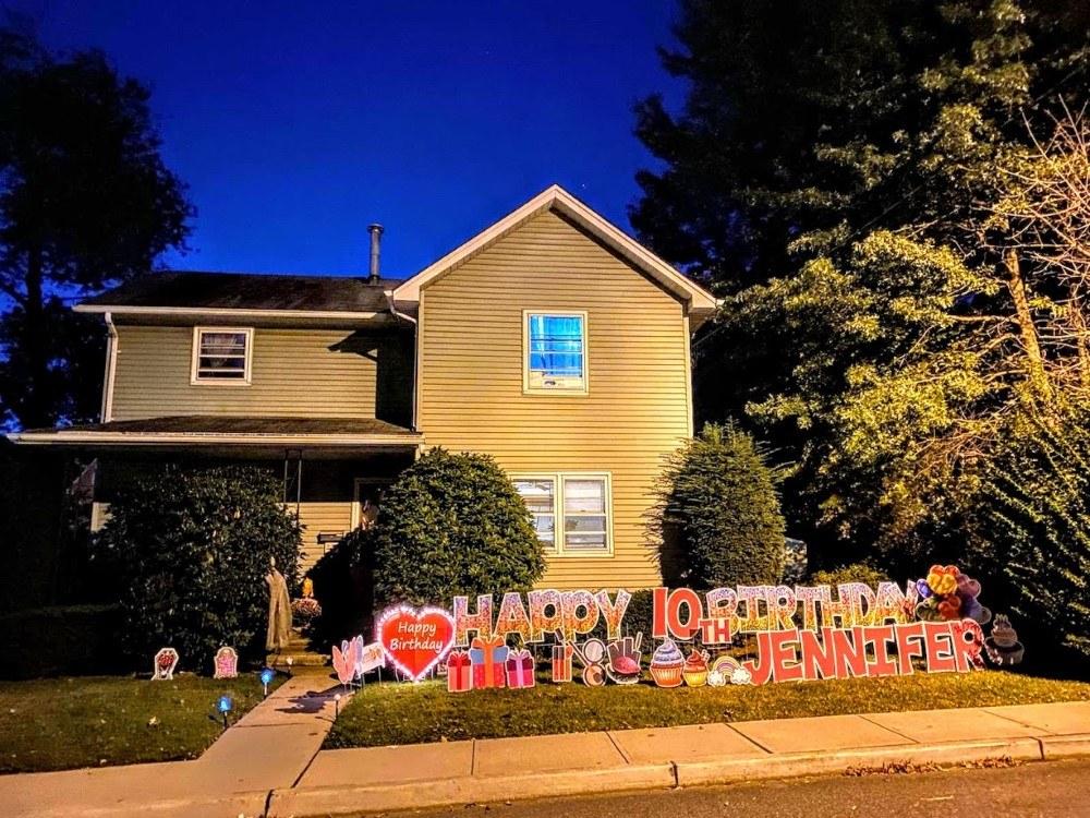 Happy Birthday Yard Signs in Paramus NJ 07652