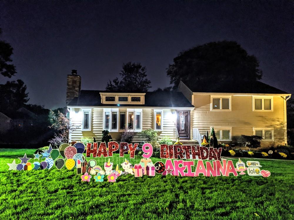 Happy Birthday Yard Signs Cedar Grove NJ