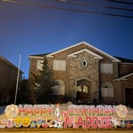 Happy Birthday Yard Sign Hasbrouck Heights NJ