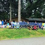 Big Birthday Sign in Franklin Lakes, NJ