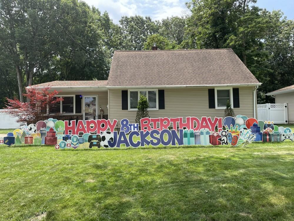 Huge, Deluxe Birthday Sign in Waldwick, NJ
